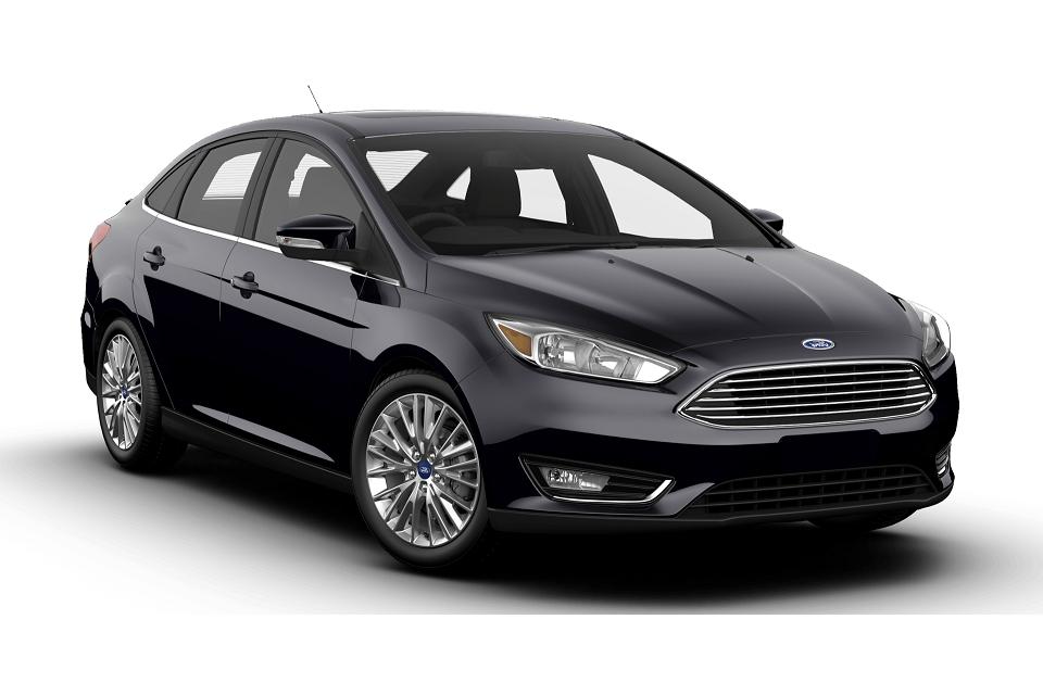 Ford Focus sedan black 2018 1.0 2